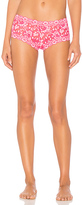 Hanky Panky Cross-Dyed Signature Lace Boyshort in Pink