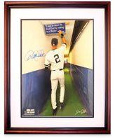 Steiner Sports Derek Jeter Autographed 16 X 20 Framed Photograph
