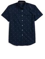 Report Collection Boy's Lightning Bolt Dress Shirt