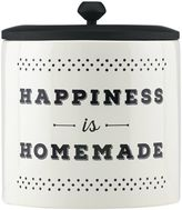 "Lenox Around the Table ""Happiness is Homemade"" Canister"