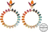 Anton Heunis Exclusive Peace Rings earrings with Swarovski crystals