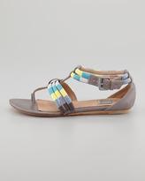 Ella Moss Kiley Wrapped Strap Flat Sandal