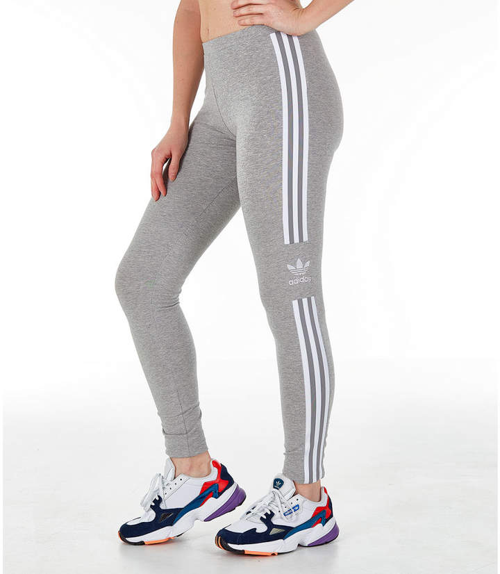 71d3ba89472dc4 Adidas Originals Womens Leggings Trefoil - ShopStyle