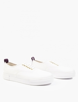 Eytys White Mother Canvas Sneakers