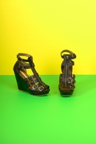 Twelfth St. By Cynthia Vincent by Cynthia Vincent Luella Wedge Sandals in Black