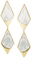 Lana Duo Satin Kite Drop Earrings