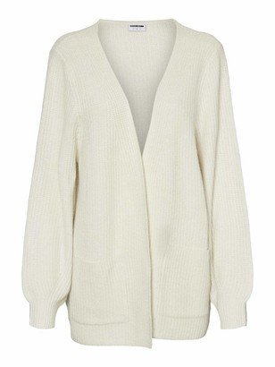 Noisy May Women's NMLUKE L/S Knit Cardigan S Sweater