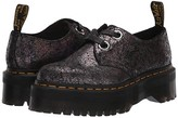 Dr. Martens Holly Iridescent Crackle (Gunmetal) Women's Shoes