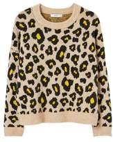 Mango MANGO Leopard print sweater