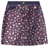 Tommy Hilfiger Jacquard Mini Skirt
