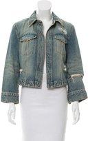 Dolce & Gabbana Distressed Denim Jacket