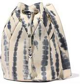 Jerome Dreyfuss Popeye Printed Leather Bucket Bag