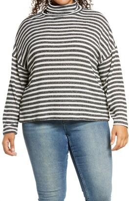 Sanctuary Women's Nikolai Metallic Stripe Pullover