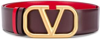 Valentino reversible VLOGO buckle belt
