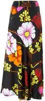 Marni floral print skirt