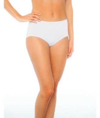 Gildan Gilden Women's Tag Free Premium Cotton Bikini Panties, 3-Pack