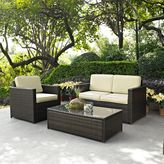 Bed Bath & Beyond Palm Harbor Collection 3-Piece Outdoor Wicker Seating Set