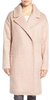 Badgley Mischka Women's 'Jenna' Snap Back Cocoon Coat