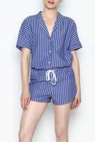 Stateside Striped Short Pajamas
