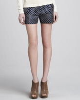 Theory Clah Relaxed Jacquard Shorts