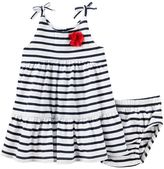 Osh Kosh Baby Girl Striped Tiered Dress