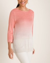 Chico's Chicos Ombre Shimmer Sweater