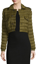 RED Valentino Women's Quilted Elasticized Down Jacket