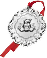 Mikasa Towle® Baby's First Christmas Sterling Teddy Bear Ornament