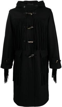 Doublet Fringe Duffle Coat