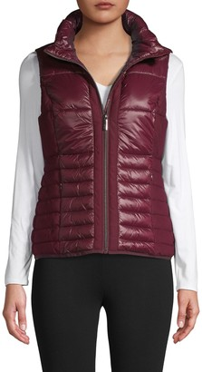 Andrew Marc Quilted Packable Vest