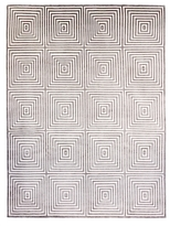 F.J. Kashanian Royal Hand-Knotted Wool and Silk Rug