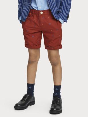 Scotch & Soda Cotton Chino Shorts | Boys
