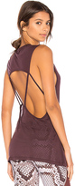 Koral Aura Tank in Purple. - size L (also in M,S,XS)