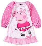 Komar Kids Little Girls 2T-4T Peppa Pig Nightgown