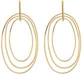Argentovivo Multi Oval Drop Earrings