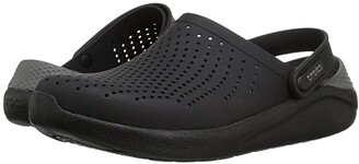 Crocs LiteRide Clog (Black/Slate Grey) Shoes