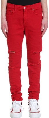 Buscemi Jeans In Red Denim