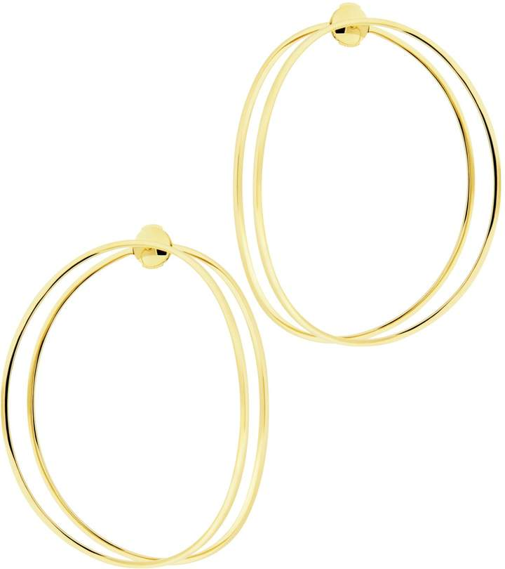 Delfina Delettrez Big Ear-Clipse Earrings