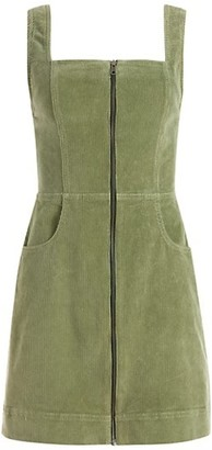 Alice + Olivia Jeans Renita Zip-Front Mini Dress