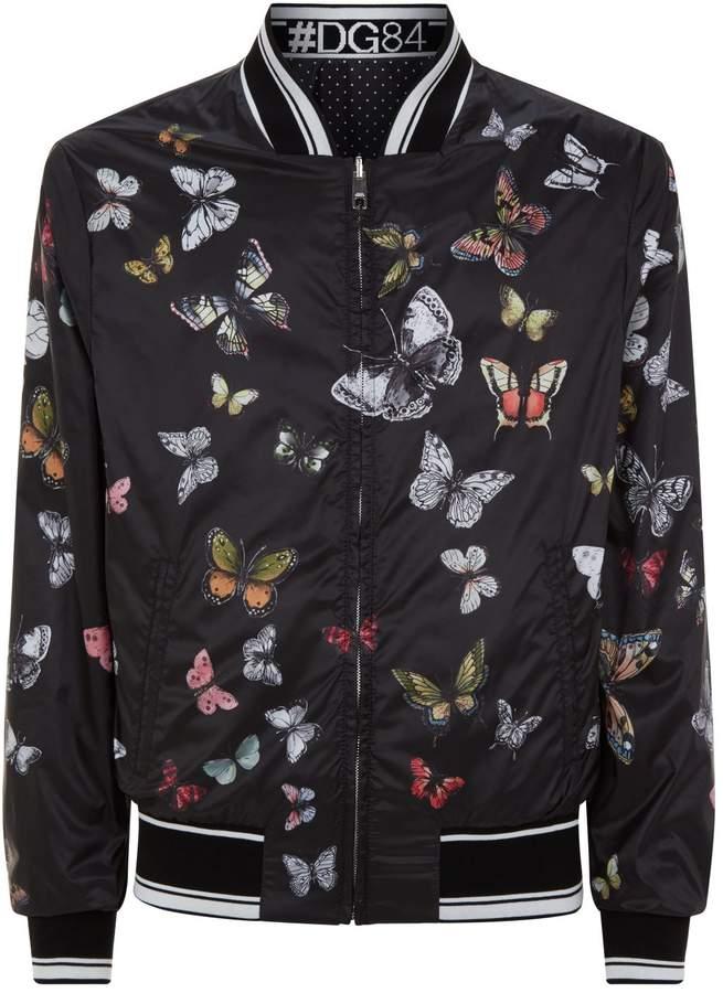 Dolce & Gabbana ReversibleBomber Jacket