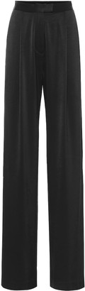 Alex Perry Hartley high-rise satin crepe pants