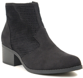 City Classified Black Weezie Ankle Boot