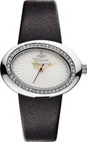 Vivienne Westwood Women's VV014SLBK Ellipse Silver Watch