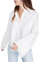 Madewell Women's Bell Sleeve Woven Shirt