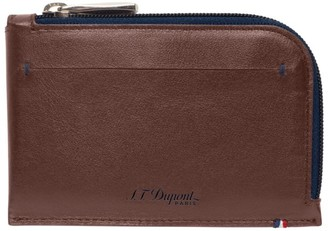 S.t. Dupont Leather Line D Coin Purse