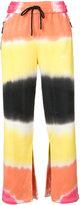 Off-White striped trousers - women - Cotton - M