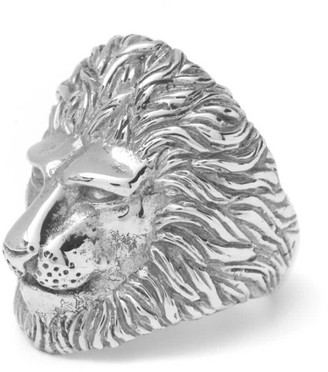 Mvdt Collection Lion Ring Silver