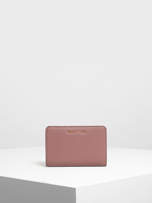 Charles & Keith Classic Zipped Wallet