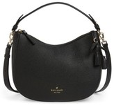 Kate Spade Hayes Street Small Aiden Leather Hobo - Black