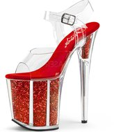 Pleaser USA Women's Flamingo 808G Platform Sandal Size 7 M